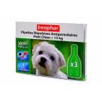 Beaphar Капли Био от блох для собак мелких пород, 3 пипетки, 0,036 кг
