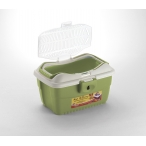 Stefanplast Переноска MINI Gulliver Зеленая (до 2,5 кг), 40*30*24см (96159), 0,75 кг