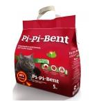 """Pi-Pi-Bent Комкующийся наполнитель """"Сенсация свежести"""" (пакет), 5 кг"""