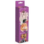 Лакомство Little One Палочки для хомяков, крыс, мышей и песчанок, с ягодами (2 шт. по 60 г), 120 г