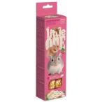 Лакомство Little One Палочки для хомяков, крыс, мышей и песчанок, с воздушным рисом и орехами (2 шт. по 55 г), 110 г