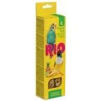 Лакомство RIO Палочки для волнистых попугайчиков и экзотов с тропическими фруктами (2 шт. по 40 г), 80 г