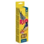 Лакомство RIO Палочки для волнистых попугайчиков и экзотов с медом (2 шт. по 40 г), 80 г