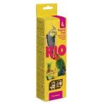 Лакомство RIO Палочки для средних попугаев с тропическими фруктами (2 шт. по 75 г), 150 г