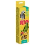 Лакомство RIO Палочки для средних попугаев с фруктами и ягодами (2 шт. по 90 г), 180 г