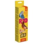 Лакомство RIO Палочки для всех видов птиц с яйцом и ракушечником (2 шт. по 40 г), 80 г
