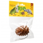 Лакомство-игрушка RIO Кедровая шишка для птиц, 50 г