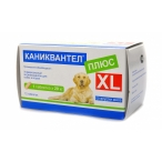 Maramed Pharma Каниквантел XL от Глистов для собак и кошек, 12 таб. (1таб.-20 кг) 12669, 0,02 кг