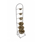 Papillon Стойка под 6 мисок, 130см (Display for stainless steel dishes height) 175451, 4,6 кг