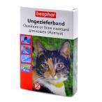 Beaphar Ошейник Diaz Желтый от блох и клещей для кошек, 35см (12619), 0,045 кг