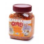 Little One Сушеная морковь - лакомство для всех видов грызунов, 0,2 кг