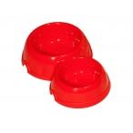 Yami-Yami Двойная круглая миска для кошек пластиковая, 100 и 200мл (2310), 0,071 кг