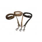 Yami-Yami Поводок кожаный, импорт.карабин, 2м*1см (020110), 0,016 кг