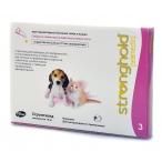 Pfizer Стронгхолд Капли от блох, ушных и чесоточных клещей и гельминтов д/котят и щенков, 3пипетки (розовые)-13256, 0,01 кг