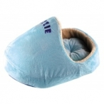 "Dezzie Домик ""Тапочек"" голубоого цвета для кошек, 66*43*33см (5615976), 0,88 кг"