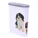 "Curver Контейнер для корма ""Собака"" на 1,5 кг/4,5л, 25*10*30см (182004), 0,56 кг"