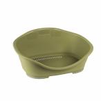 Stefanplast Пластиковый Лежак Sleeper 2: 55*37*26 см, зеленый (97829), 0,65 кг