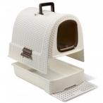 Curver Туалет-домик для кошек, кремово-коричневый, 51*39*40см (198849), 2,4 кг