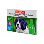 Beaphar Капли Био от блох для собак крупных пород, 6 пипеток, 0,049 кг