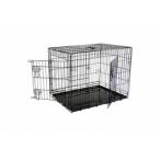 Papillon Клетка металлическая с 2 дверками, 76*54*61 см, черная (Wire cage black 2) 151276, 11,3 кг