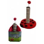 "Papillon Когтеточка ""Божья коровка"" 43*31*31см (Cat scratcher ladybird red/black in promobox) 210101, 2,9 кг"