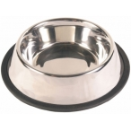 Trixie Миска, металл. с резинкой 14см, 0,45л - 24851, 0,15 кг