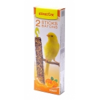 Benelux Лакомые палочки для канареек с апельсином (Seedsticks canary Orange x 2 pcs) 16217, 0,11 кг