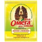 Астрафарм Омега Neo витамины для собак с морскими водорослями,15 таб.(саше), 0,01 кг