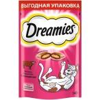 Dreamies Лакомые подушечки для кошек с говядиной, 10150254, 0,14 кг