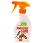 Апи-Сан Умный Спрей Ликвидатор пятен и запаха для грызунов, хорьков, птиц и рептилий, 0,2 кг