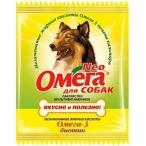 Астрафарм Омега Neo витамины для собак с биотином,15 таб.(саше), 0,01 кг