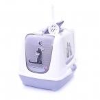 Moderna Туалет-домик Trendy cat с угольным фильтром и совком, 50х41х39, Влюбленные коты, 1,5 кг