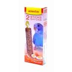 Benelux Лакомые палочки с яйцом для волнистых попугайчиков (Seedsticks budgies Eggs x 2 pcs) 16242, 0,11 кг