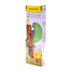Benelux Лакомые палочки с орехами и бананом для больших попугаев (Seedsticks xxl parrots+Nuts/Banana x 2 pcs) 16262, 0,18 кг