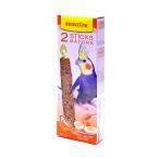 Benelux Лакомые палочки с яйцом и медом для длиннохвостых попугаев (Seedsticks parakeet Honey/Eggs x 2 pcs) 16251, 0,11 кг