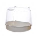 Benelux Ванночка для птиц для круглой клетки 15*11*12.5 см (Bird bath for round cage 15x11x12.5 cm) 14402, 0,25 кг