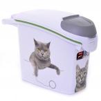 """Curver Контейнер для корма """"Сладкие котята""""на 6 кг/15л, 23*50*36см (201782), 1,18 кг"""