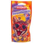 Beaphar Лакомство для кошек в форме сердечек (Sweet Hearts Trully delicious)150шт. красный пакетик (16110/16118), 0,07 кг