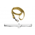 Yami-Yami Поводок брезентовый легкий, импорт.карабин, 5м*2см (029606), 0,065 кг