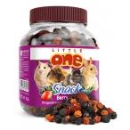 Little One Ягодное ассорти - лакомство для всех видов грызунов, 0,2 кг
