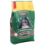 Сибирская кошка Лесной Древесный наполнитель (простая упаковка), 20 кг