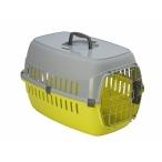 Moderna Переноска Roadrunner 2 IATA металлическая дверь+замок, 35х58х37, лимоно-желтый (roadrunner II SPRING lock) MOD-T203-329-B, 1,1 кг