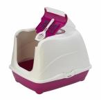 Moderna Туалет-домик Jumbo с угольным фильтром, 57х44х41см, ярко-розовый, 1,7 кг