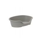 Moderna Лежак domus пластиковый 70см, 81х54х24 теплый серый, 1,5 кг
