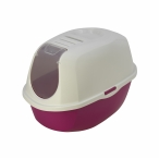 Moderna Туалет-домик SmartCat с угольным фильтром, 54х40х41см, ярко-розовый, 1,2 кг