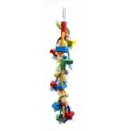 "Benelux Игрушка-дразнилка для длиннохвостых попугаев ""Каскад"" 13x13x60 см, 330 г"