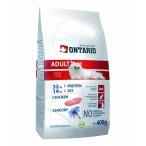 Корм Ontario для взрослых кошек с курицей, ONTARIO Adult, 10 кг