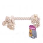 """Papillon Игрушка для собак """"Канат с 2 узлами"""", хлопок, 25 см, 90 г"""