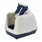 Moderna Туалет-домик Jumbo с угольным фильтром, 57х44х41см, черничный, 1,7 кг