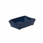 Moderna Туалет-лоток средний с рамкой Artist Medium + rim, 42х30х12см, черничный (arist-o-tray + rim 42cm medium), 400 г